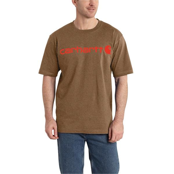Carhartt Signature Logo Short-Sleeve T-Shirt - Discontinued Pricing