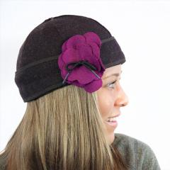 Women's Brimless Petal Pusher Cap