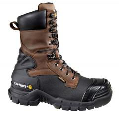 Carhartt Men's 10 Inch Insulated Brown Pac Boot Composite Toe
