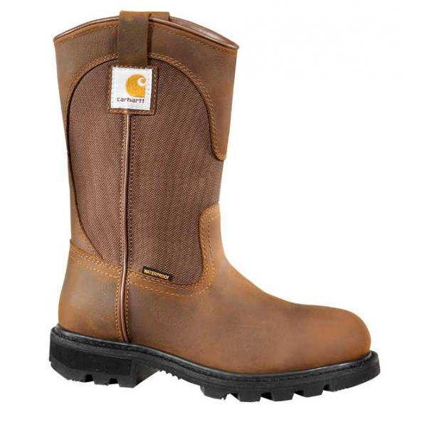 Carhartt Women's 10 Inch Wellington Boot Steel Toe