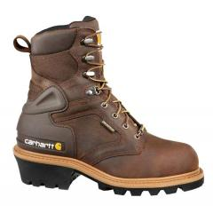 "Men's 8"" Logger Safety Toe Insulated"