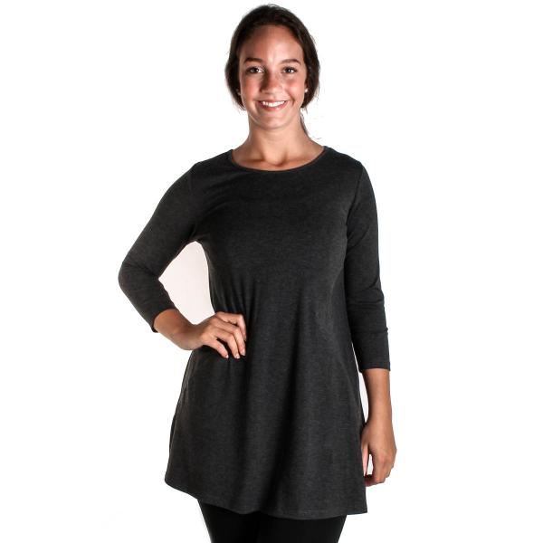 Comfy USA Women's Diamond Side Tunic