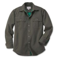 Men's Light Antique Tin Cloth Lined Shirt