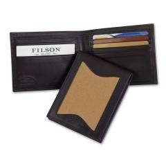 Leather/Twill Outfitter Wallet