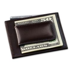 Money Clip Wallet with Credit Card Case