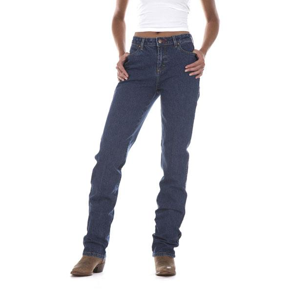 Wrangler Women's Slim Fit Cowboy Cut Tapered Leg