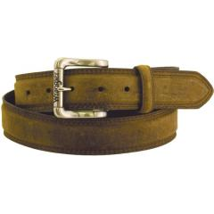 Wrangler Men's Rugged Wear Belt 1 1/2 Inch Heavy Oil Tanned Leather