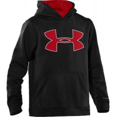 Boys' Armour Fleec Storm Big Logo Hoody