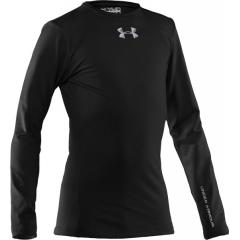 Boys' UA Evo ColdGear Fitted Crew
