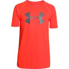 Boys' UA Tech Big Logo Short Sleeve T-Shirt