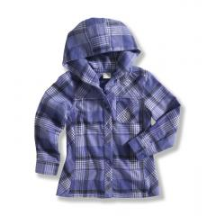 Infant and Toddler Wylie Flannel Hoodie