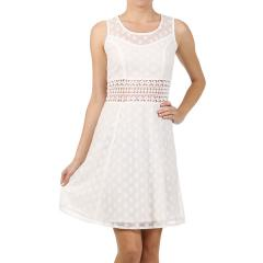 Women's Lace Dress with Crochet Waist
