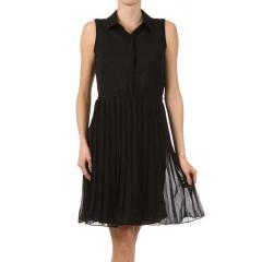 Women's Pleated Shirt Dress
