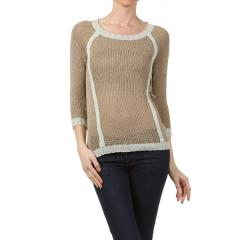 Women's Color Block Sweater