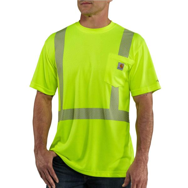 Carhartt Men's Force High-Visibility Short Sleeve Class 2 T-Shirt