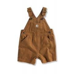 Infant and Toddler Boys' Washed Canvas Bib Shortall