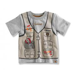 Infant and Toddler Boys' IB Fishing Vest Tee