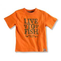 Infant and Toddler Boys' Live to Fish Tee