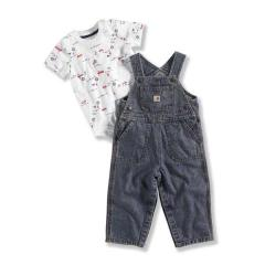 Infant Boys' Firehouse Dog Overall Set
