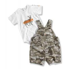 Infant Boys' Camo Shortall 2 Piece Set