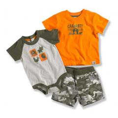 Infant Boys' Camo Short 3 Piece Set