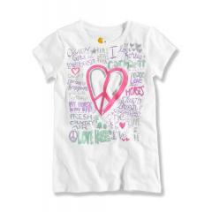 Girls' Love Horses & Carhartt Tee