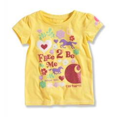Infant Girls' Free 2 Be Me Tee