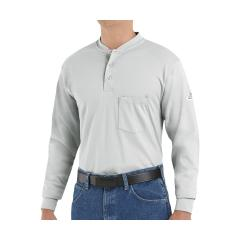Men's 6.25 Ounce LS FR Interlock Henley