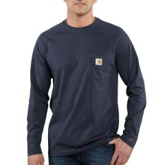 Men's Force Cotton Delmont Long Sleeve T-Shirt