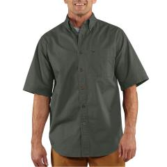 Men's Hines Solid Short Sleeve Shirt - Discontinued Pricing