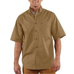 Men's Hines Solid Short Sleeve Shirt