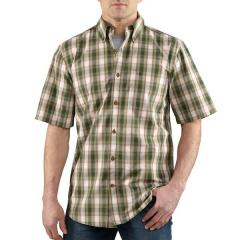 Men's Bellevue Plaid Short Sleeve Shirt