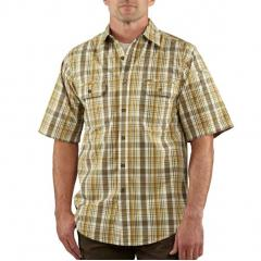 Men's Standish Plaid Short Sleeve Shirt