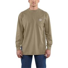 Men's Flame-Resistant Force Cotton Long-Sleeve T-Shirt