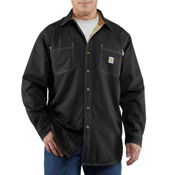 Carhartt Men's Flame-Resistant Canvas Shirt Jac