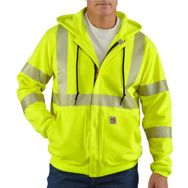 Carhartt Men's Flame-Resistant Heavyweight High Visibility Sweatshirt