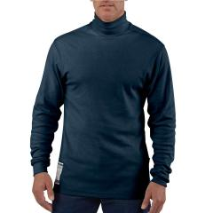 Carhartt Men's Flame-Resistant Force Cotton Long Sleeve Mock Turtleneck