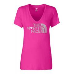 Women's Short Sleeve Luv Tree V-Neck Tee
