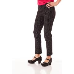 Women's Slim Ankle Pant with Print