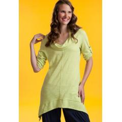 Peace Cowl Tunic Plus Size