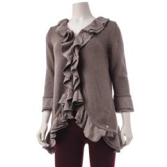 Women's Ethical Ruffle Cardigan