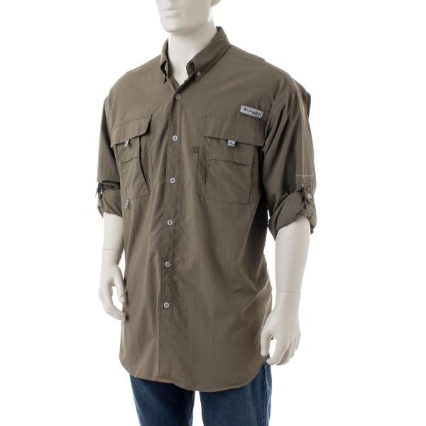 Columbia men 39 s pfg bahama ii long sleeve shirt tall for Big and tall quick dry shirts