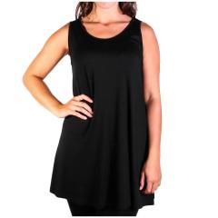 Comfy USA Women's Sleeveless Tunic Top