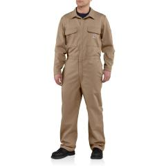 Men's Flame-Resistant Traditional Twill Coverall