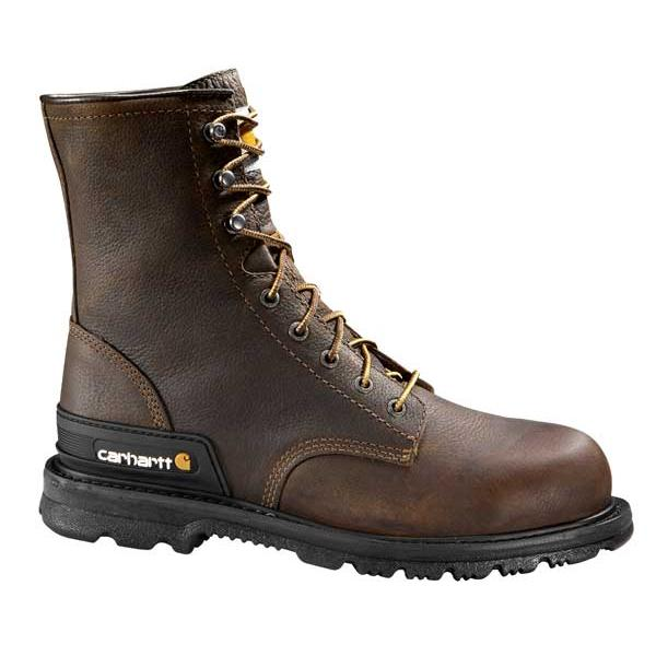 Carhartt Men's 8 Inch Unlined Work Boot Steel Toe