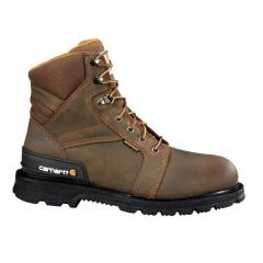 Men's 6 Inch Work Boot with Heel Stabilizer Steel Toe