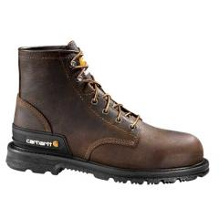 "Men's 6"" Dark Brown Unlined Breathable Work Boot"