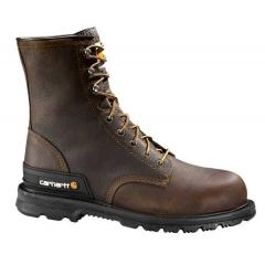 "Men's 8"" Dark Brown Unlined Breathable Work Boot"