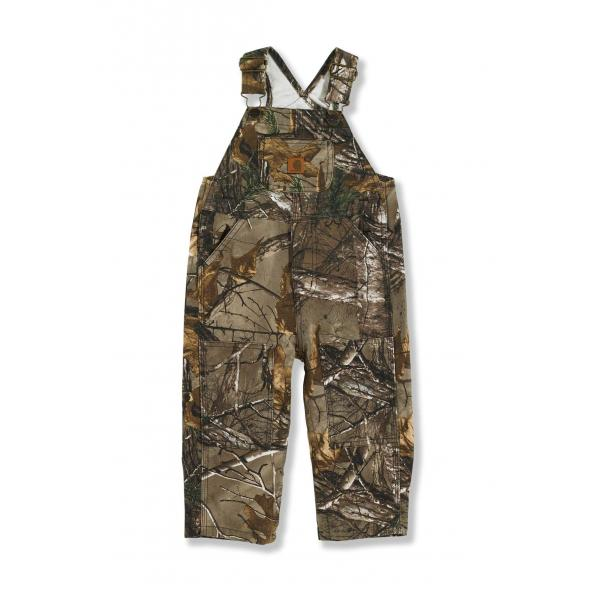 Carhartt Infant Boys' Washed Work Camo Bib Overall
