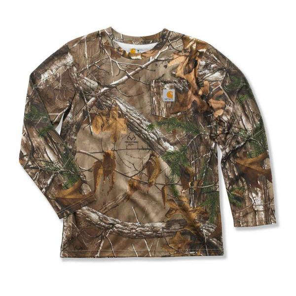 Carhartt Boys' Work Camo Pocket T-Shirt